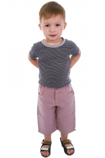 Капрі літні для хлопчика,купити брюки для хлопчика літні,брюки дитячі з натуральних матеріалів