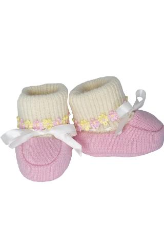пинетки вязаные для младенца