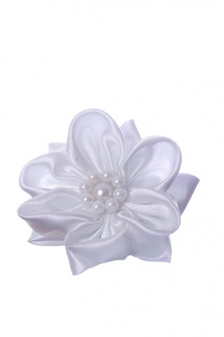 Резинки для волос детские, стильный аксессуар для волос детский, резинка-цветок для волос для девочки
