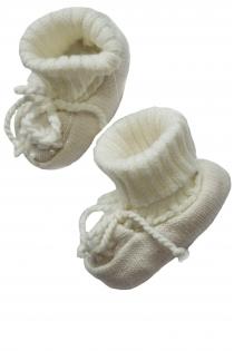 Пинетки для младенца вязаные, пинетки для малыша, обувь в каляску,